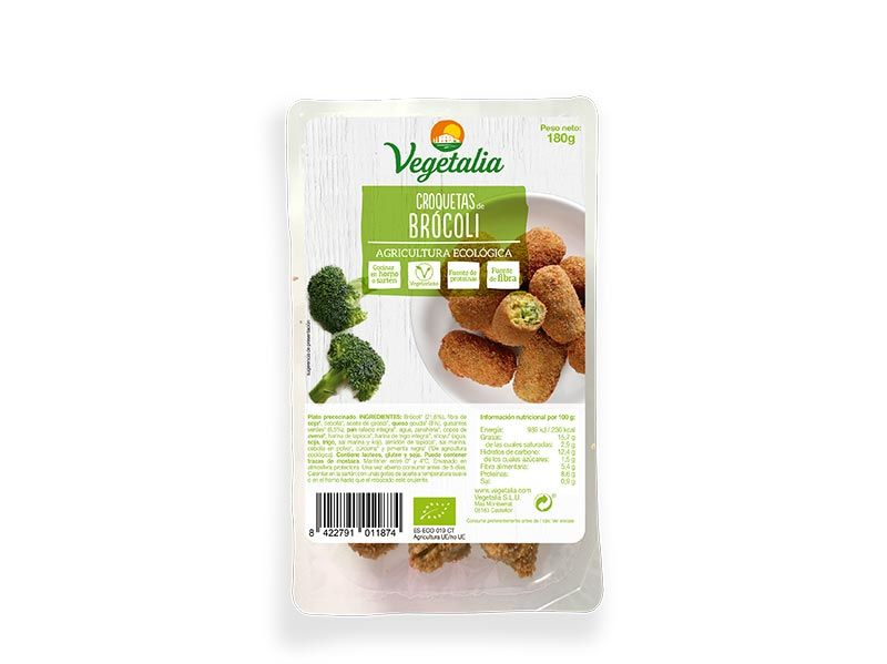 Croquetas de brócoli Vegetalia