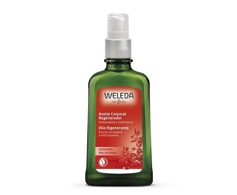 Aceite corporal regenerador de granada 100ml, de Weleda