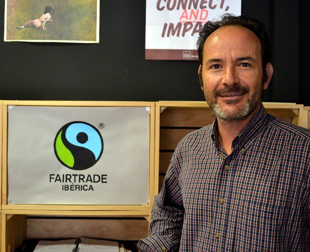 Álvaro Goicoechea, Director de Fairtrade Ibérica