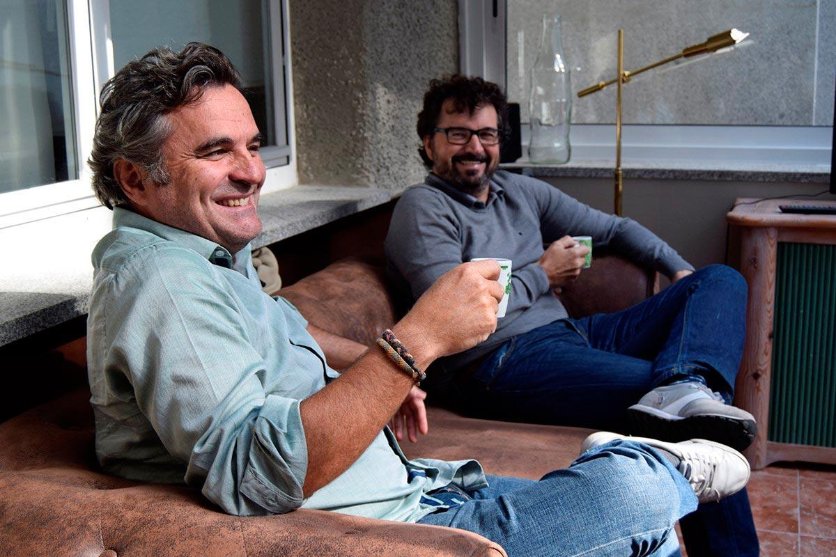 Aitor Guerra y Miguel Munilla, fundadores Debuencafé