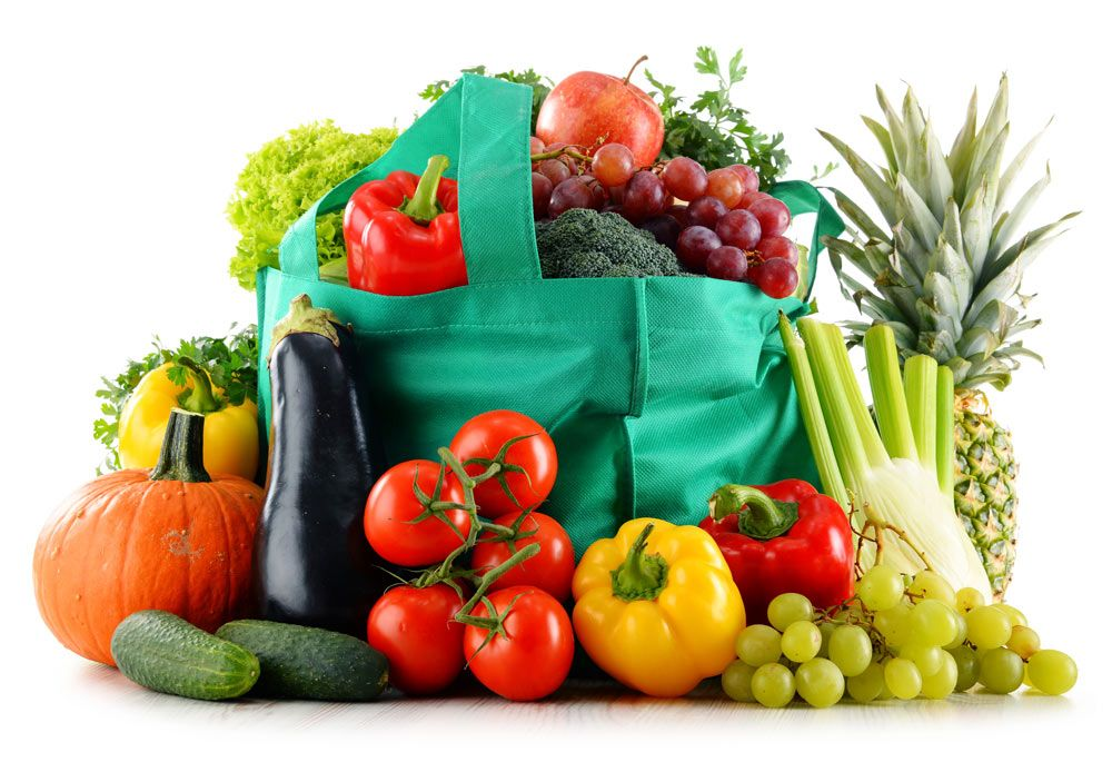 """""""Una alimentación sana, empieza en una buena cesta de la compra"""""""