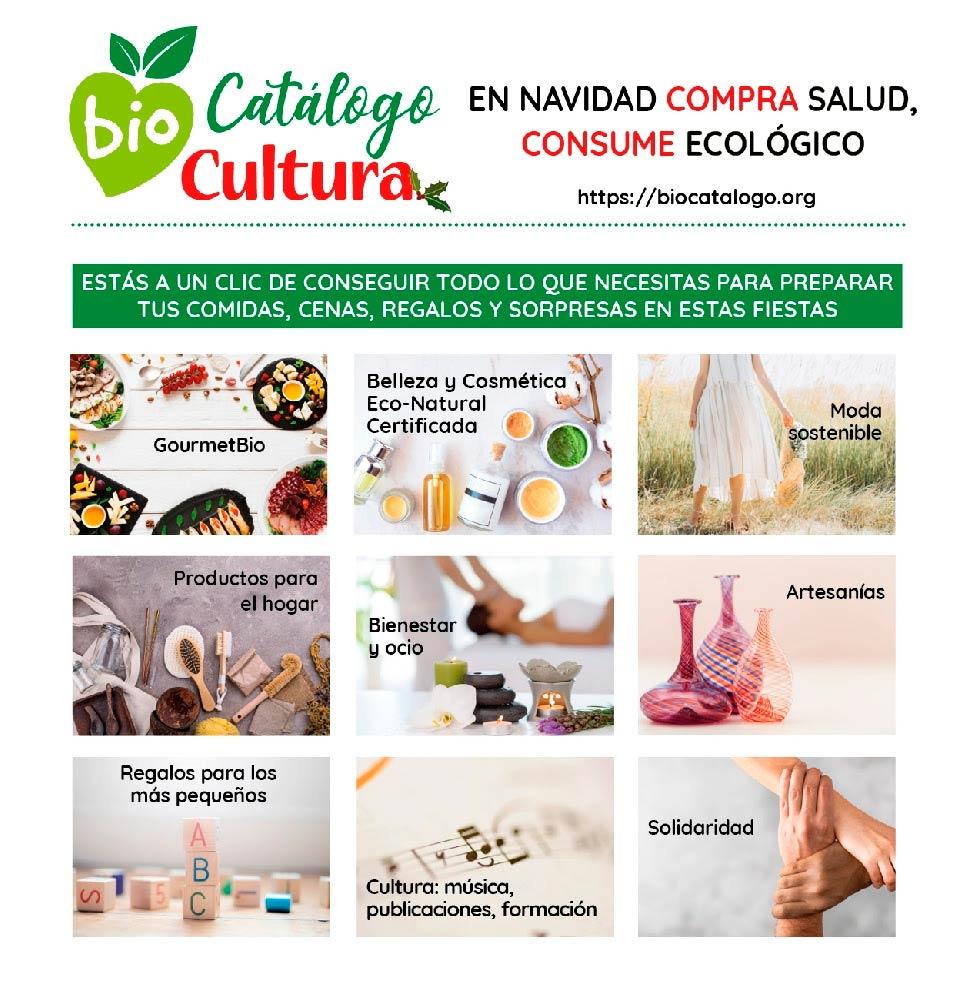 Biocatálogo: consumo consciente en una Navidad Eco