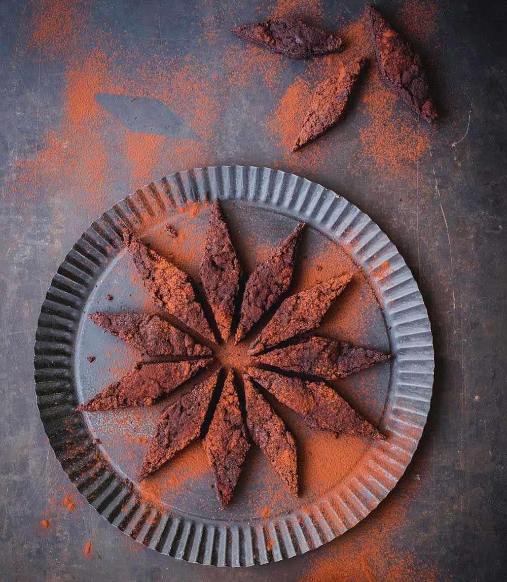 Recepta: brownie de xocolata i cafè de Nadal