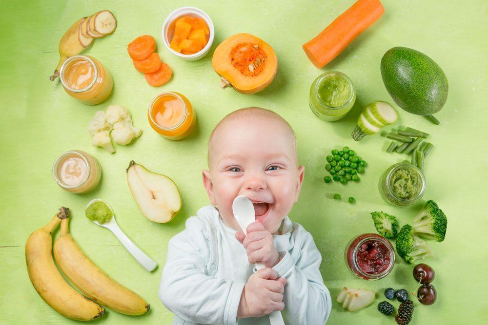 Cómo afectan los colores de los alimentos a los más pequeños