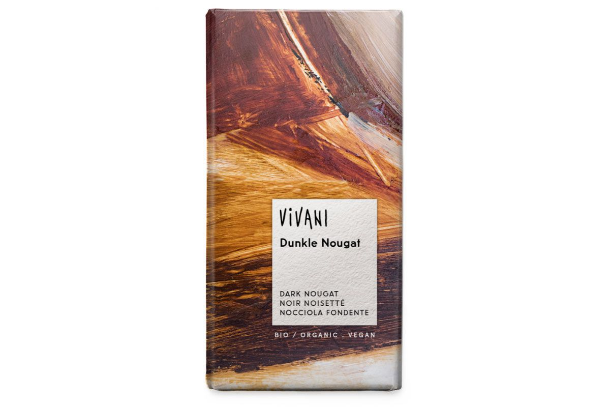 Xocolata praliné negre, de Vivani