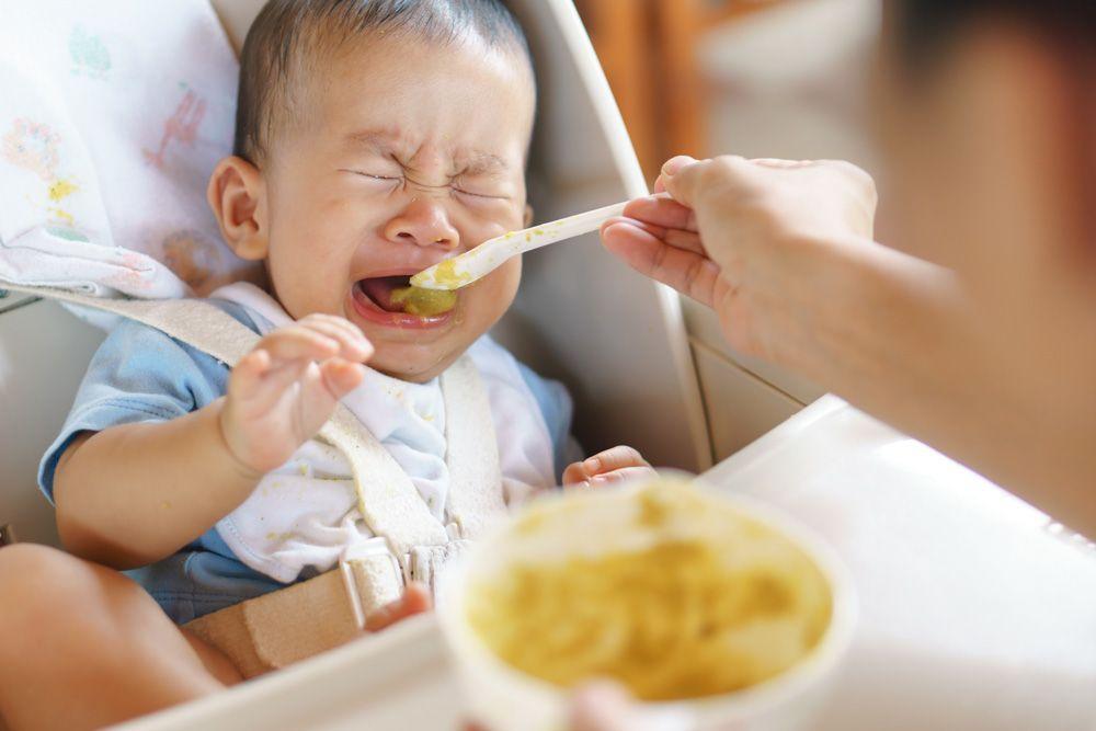 Comida inapropiada para los bebés