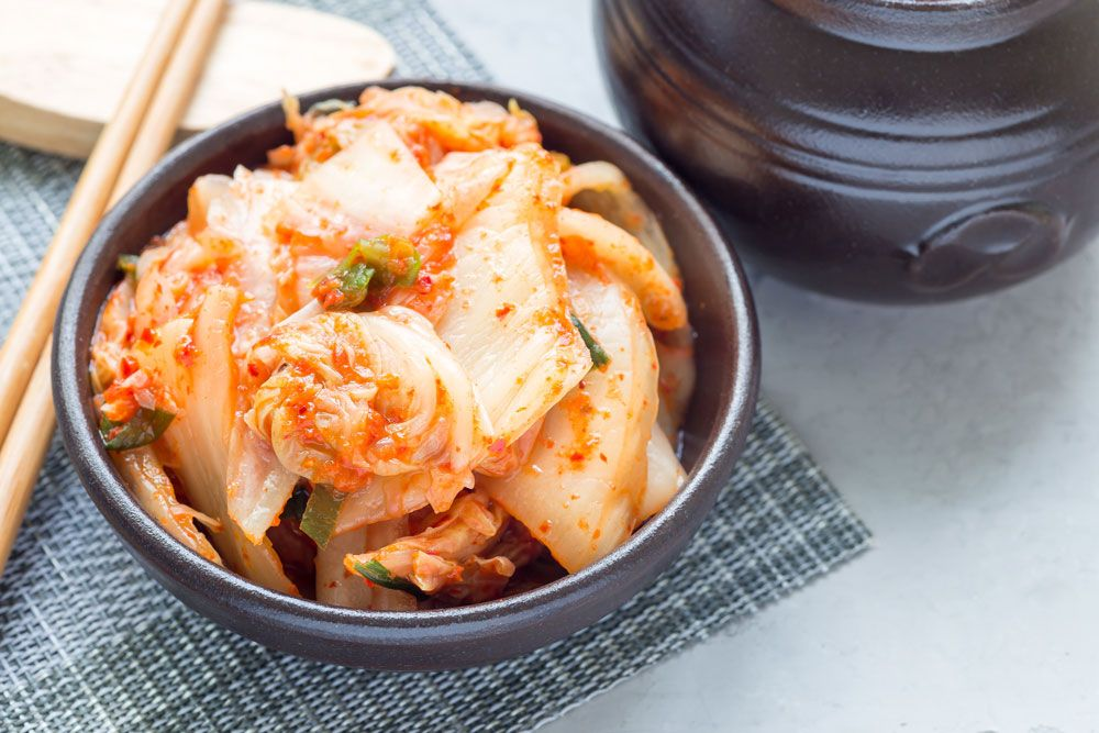 Kimchi: fermentado coreano con propiedades saludables