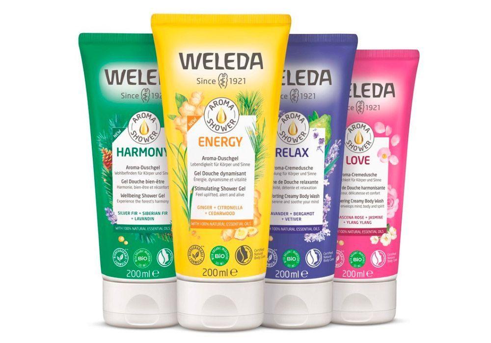 Aroma Shower de Weleda: una ducha 100% natural
