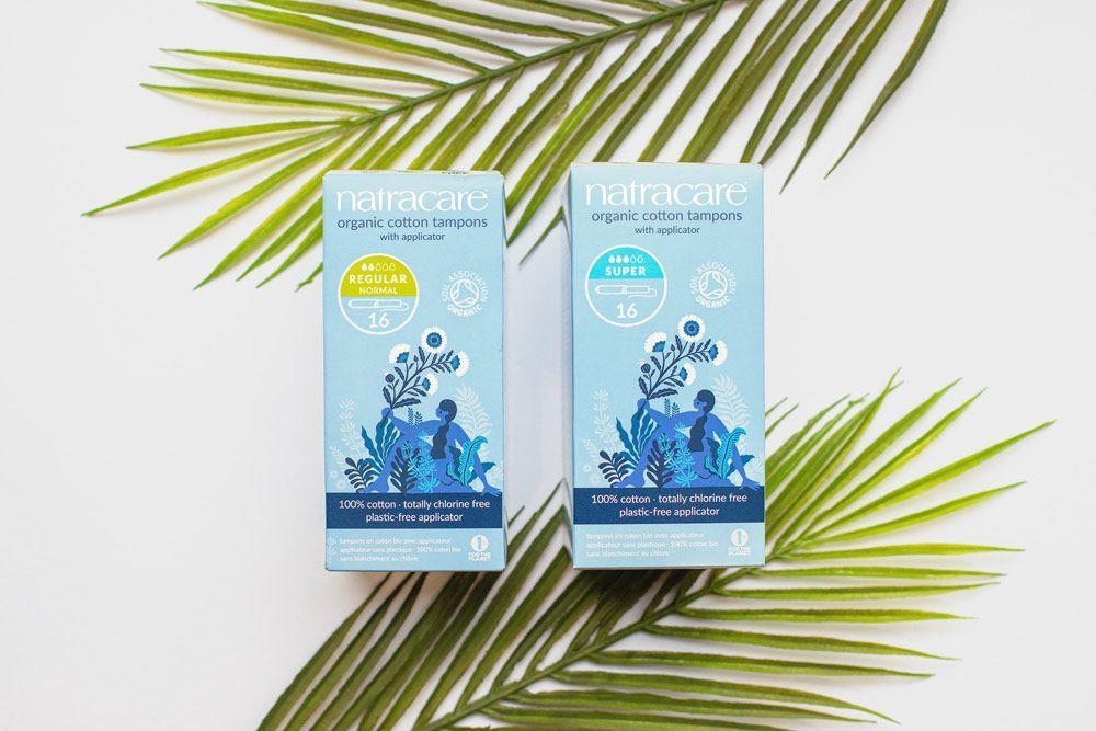 Natacare recibe el logotipo 'Pastic Free Mark' en todos sus productos de higiene femenina