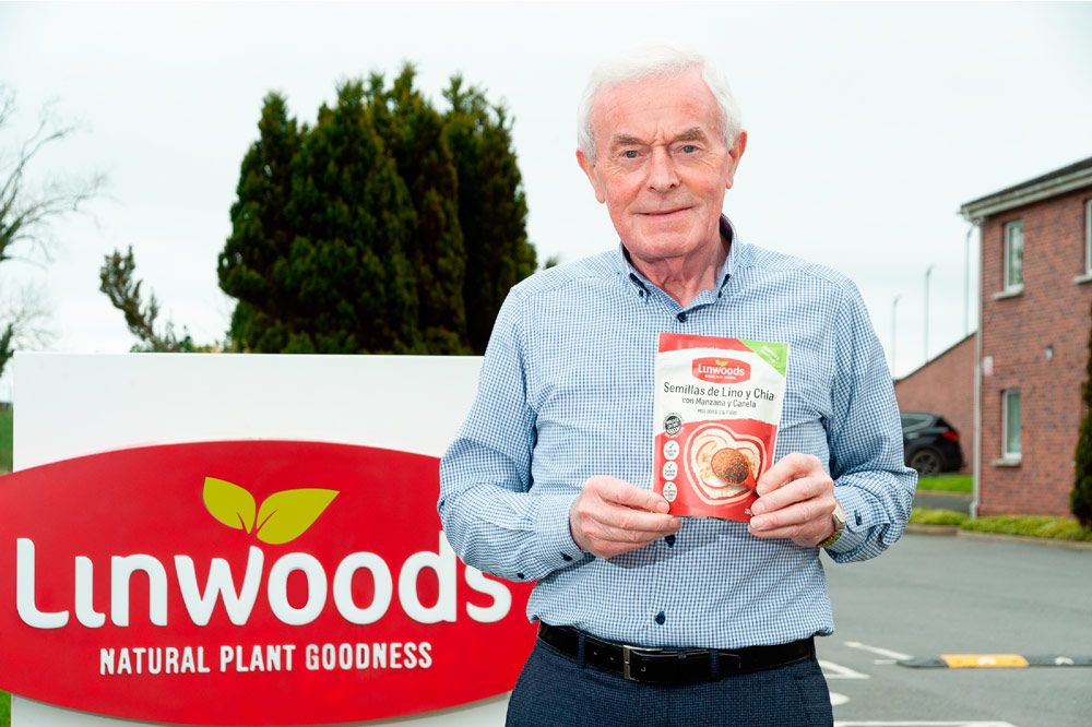 """John Woods: """"Molemos en frío con el fin de preservar todas las propiedades nutricionales de las semillas y su asimilación"""""""