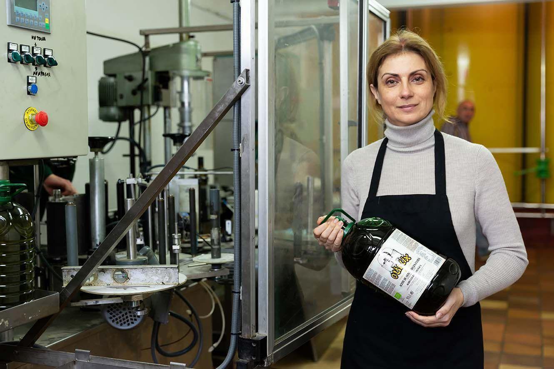 La producción de Aceite de Oliva Virgen Extra ecológico