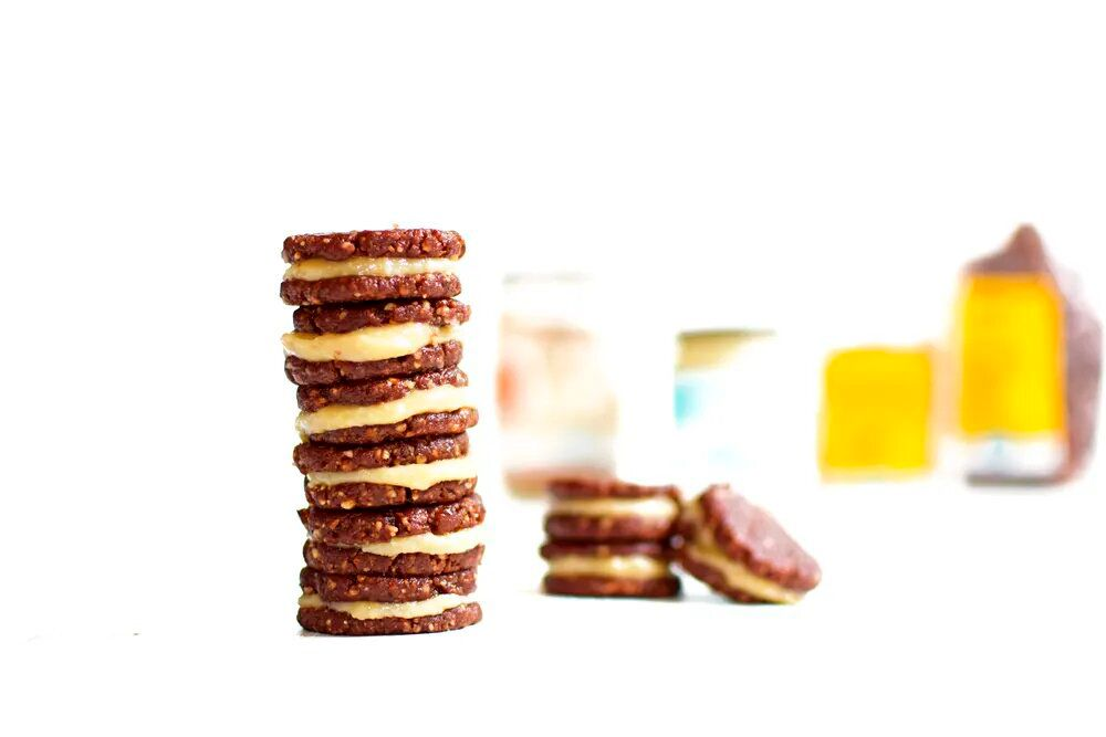 Recepta: galetes saludables al estil oreo